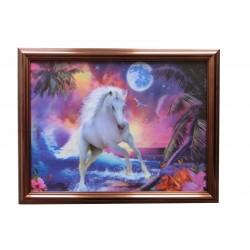 Pferd im Mondschein