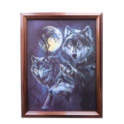 Wölfe im Mondschein 2
